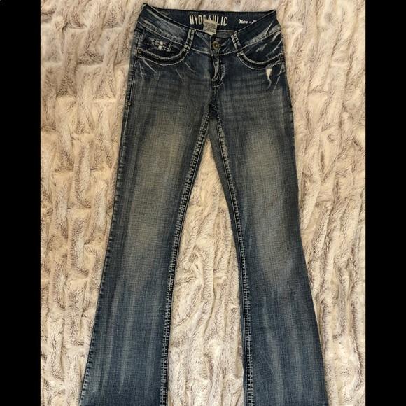 Hydraulic Denim - Hydraulic Metro Low Rise Bootcut Jeans